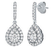 Diamond Drop Earrings, 14K, 1.00 cttw, by Affinity - J375207