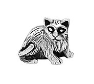 Prerogatives Sterling Cat Bead - J108408