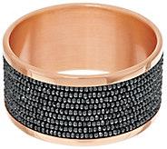 Bronze Bold Multi-Row Hematite Bead Bangle by Bronzo Italia - J270008