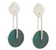 As Is Novica Sterling Opposites Attract Dangle Earrings - J275108