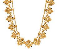 Jacqueline Kennedy Goldtone Herald Necklace - J284108