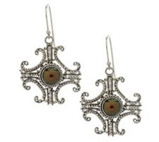 As Is Suarti Artisan Crafted Sterling Cultured Pearl Earrings