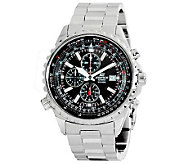Casio Mens Edifice Stainless Steel Multi-Function Watch - J297608