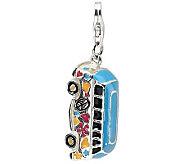 Amore La Vita Sterling Dimensional Hippie Bus Charm - J309908