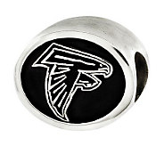 Sterling Atlanta Falcons NFL Bead - J315108