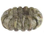 As Is Connemara Marble Segmented StretchBracelet - J332308