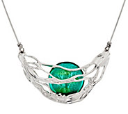 Kalos by Hagit Sterling Silver and Gladd Galilee Necklace - J335808