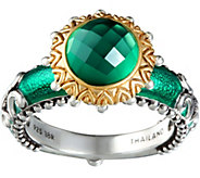 Barbara Bixby Sterling & 18K Doublet Ring - J379308