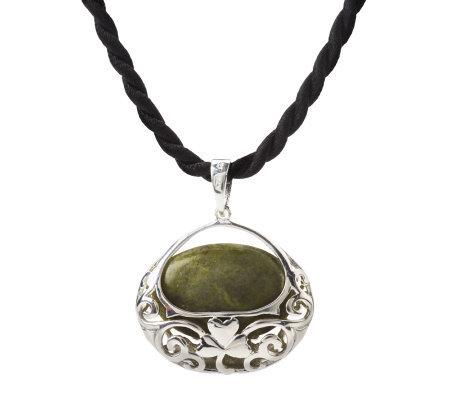 Marble Basket Necklace