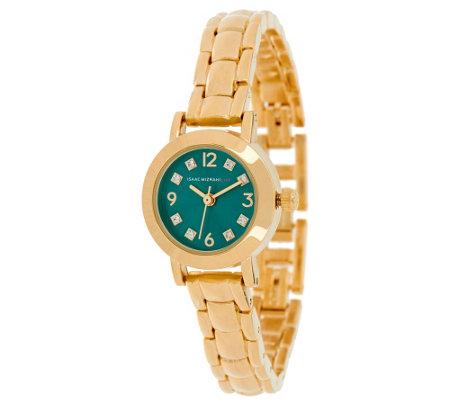 Isaac Mizrahi Live! Mini Colored Dial Bracelet Watch ...