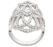 Epiphany Diamonique Open Design Ring - J324409