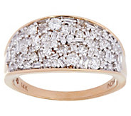 Multi-shape Diamond Band Ring, 14K, 1.00 cttw, by Affinity - J331109