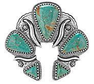 American West Jennifer Nettles Green TurquoiseNaja Enhancer - J344609