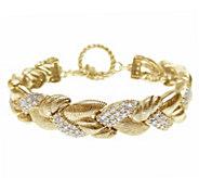 Judith Ripka 14K Clad & Diamonique Bracelet - J344909