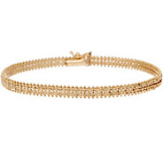 Imperial Gold 8 Starlight Bracelet, 14K Gold, 10.1g - J352509