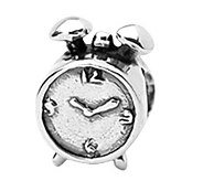 Prerogatives Sterling Alarm Clock Bead - J108910