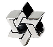 Prerogatives Sterling Silver Star of David Bead - J111510