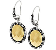 Michael Dawkins Sterling & 14K Clad Faceted Dangle Earrings - J289610