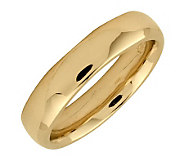 Simply Stacks Sterling 18K Yellow Gold-Plated 4.25mm Ring - J298110