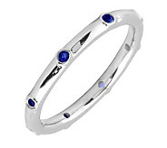 Simply Stacks Sterling Sapphire Multi-stone Stackable Ring - J298610