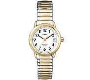Timex Womens Two-Tone Easy Reader Watch - J308810
