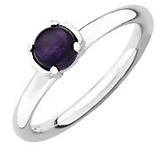 Simply Stacks Sterling Polished Gemstone Ring - J308910