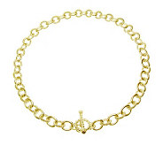 Judith Ripka Astor 20 Chain Necklace, Sterling14K Clad - J313610