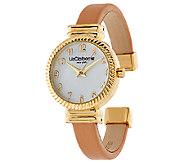 Liz Claiborne New York Textured Bangle Watch - J318210