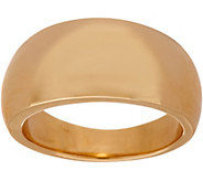Italian Gold Polished Graduated Band Ring, 14K Gold - J348710
