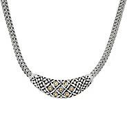 Artisan Crafted Sterling Silver & 18K Gold Tulang Naga Necklace - J349910