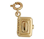 14K Yellow Gold Jewelry Box Charm - J105811