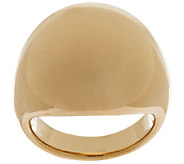 14K Gold Bold Polished Domed Ring - J295411