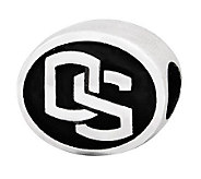 Sterling Silver Oregon State University Bead - J300811