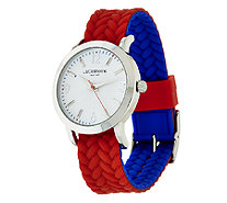 Liz Claiborne New York Reversible Color Block Watch - J318211