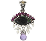 Barbara Bixby Sterling & 18K 3.45 cttw Gemstone Evil Eye Enhancer - J320411