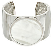 H by Halston Bold Cuff with Hinge Closure - J330511