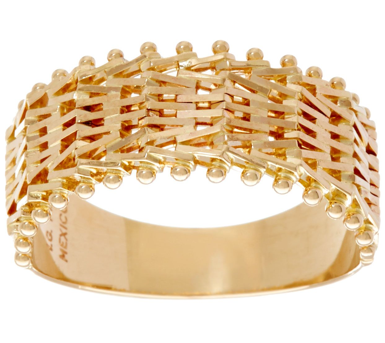 jewelry link zoe cuban ring gold lev