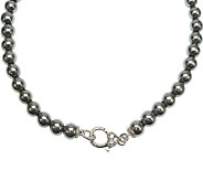 Judith Ripka Sterling and Hematite Bead 20 Necklace - J339811