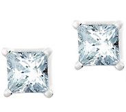 Princess Diamond Stud Earring, 14K Gold 1/10 ctby Affinity - J341411