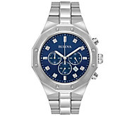Bulova Mens Diamond Accent Chronograph Watch - J375111