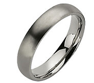 Titanium 5mm Brushed Ring - Unisex - J110012