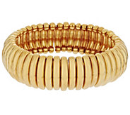 Joan Rivers Italian Style Ribbed Stretch Bracelet - J290612