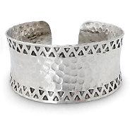 Novica Artisan Crafted Silver Tribal Moon Cuff - J307712