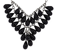 Linea by Louis DellOlio Teardrop Bib Necklace - J317112