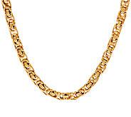 14K Gold 18 Modern Status Byzantine Necklace, 15.2g - J321612