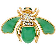 Joan Rivers Look of Semi-Precious Bee Pin - J323412