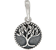 Carolyn Pollack Sterling Silver Tree of Life Charm Enhancer - J352712