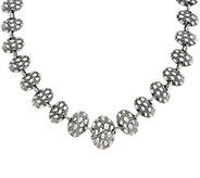 As Is JAI Sterling Silver Croco Pebble Statement Necklace, 90.9g - J354412