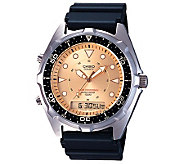 Casio Mens Ana-Digi Alarm Chronograph Dive Watch - J106913