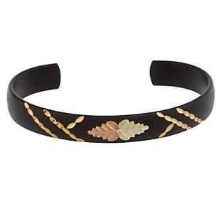 Product image of Black Hills Midnight Eclipse Bangle Bracelet 10K/12K
